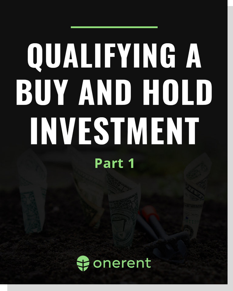 Qualifying an Investment