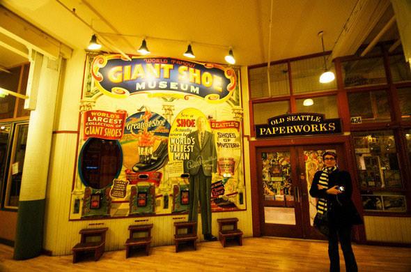 giant shoe museum