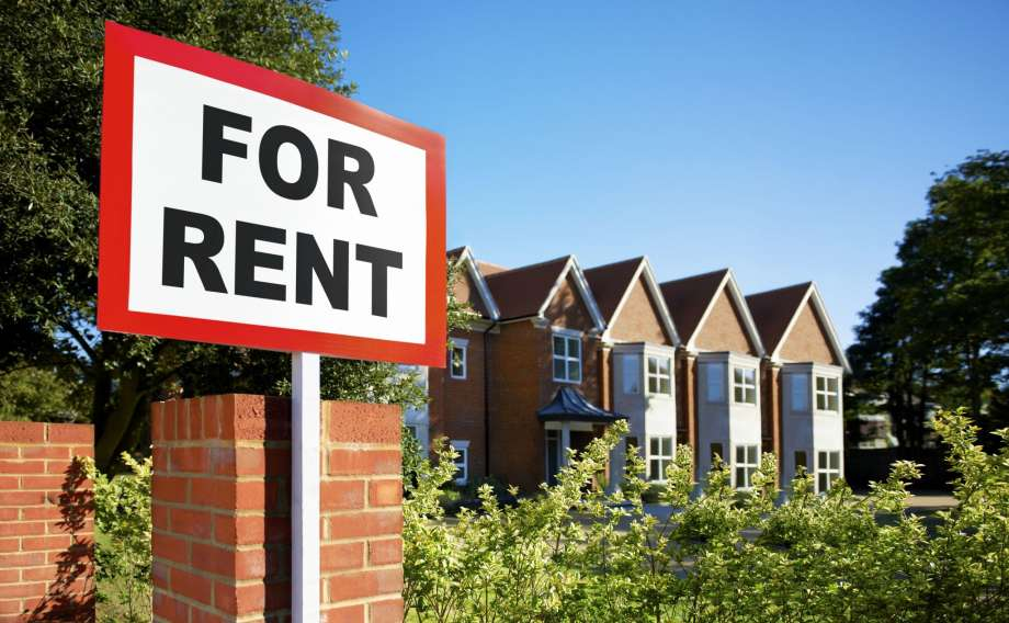 house for rent signage