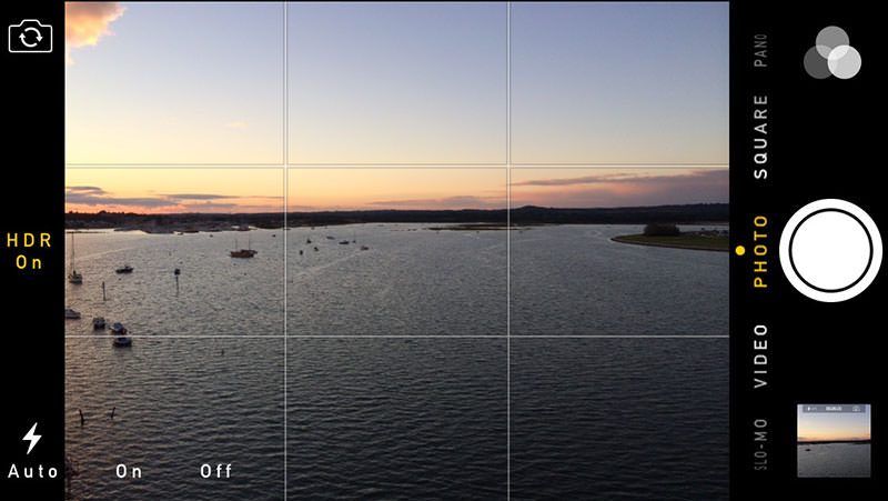 how to fix tilted photos iphone camera grid lines