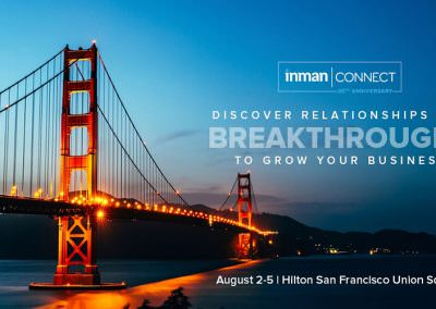 Onerent Speaking at Inman Tech Connect 2016