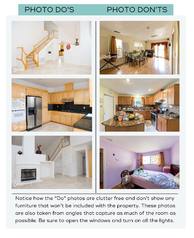 real estate photos dos and donts
