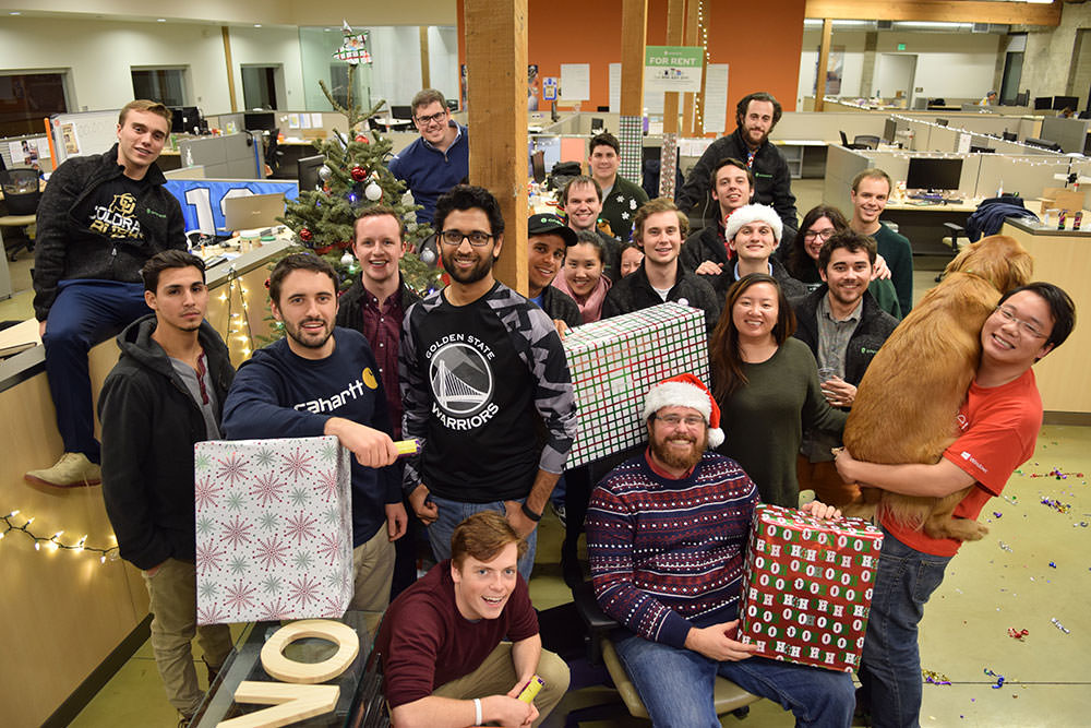 the season of giving back onerent team