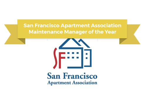 sf apartment association maintenance manager award