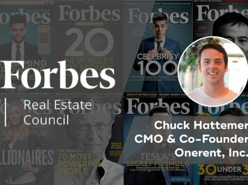 Onerent_CMO_Chuck_Hattemer_Joins_Forbes_Real_Estate_Council