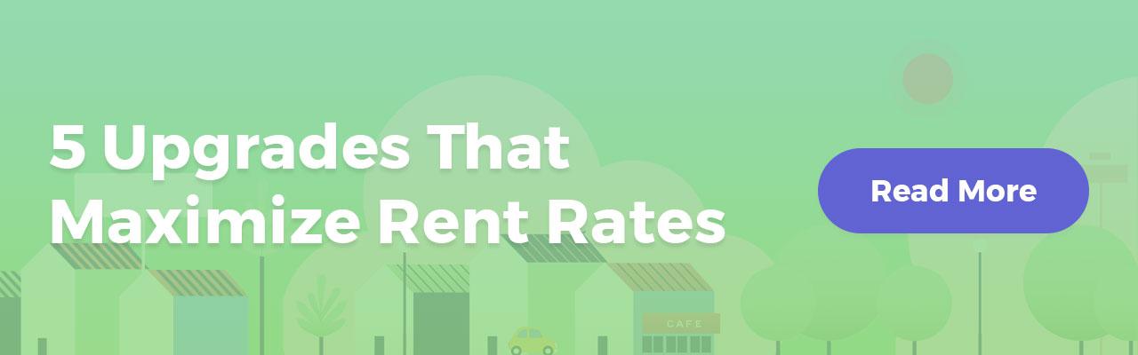 upgrades to maximize rent