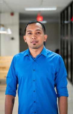 andy catayas onerent human resource manager