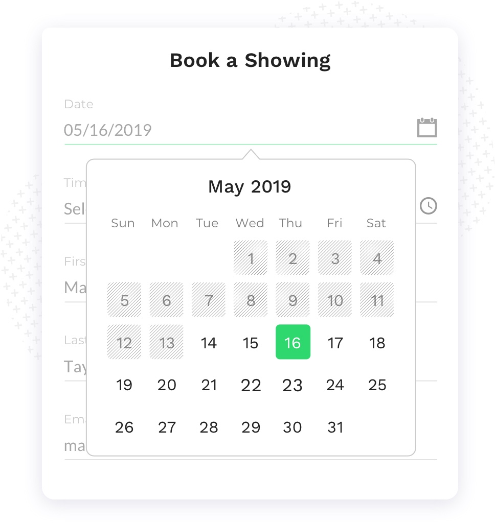Book a Self-Service Showing Anytime