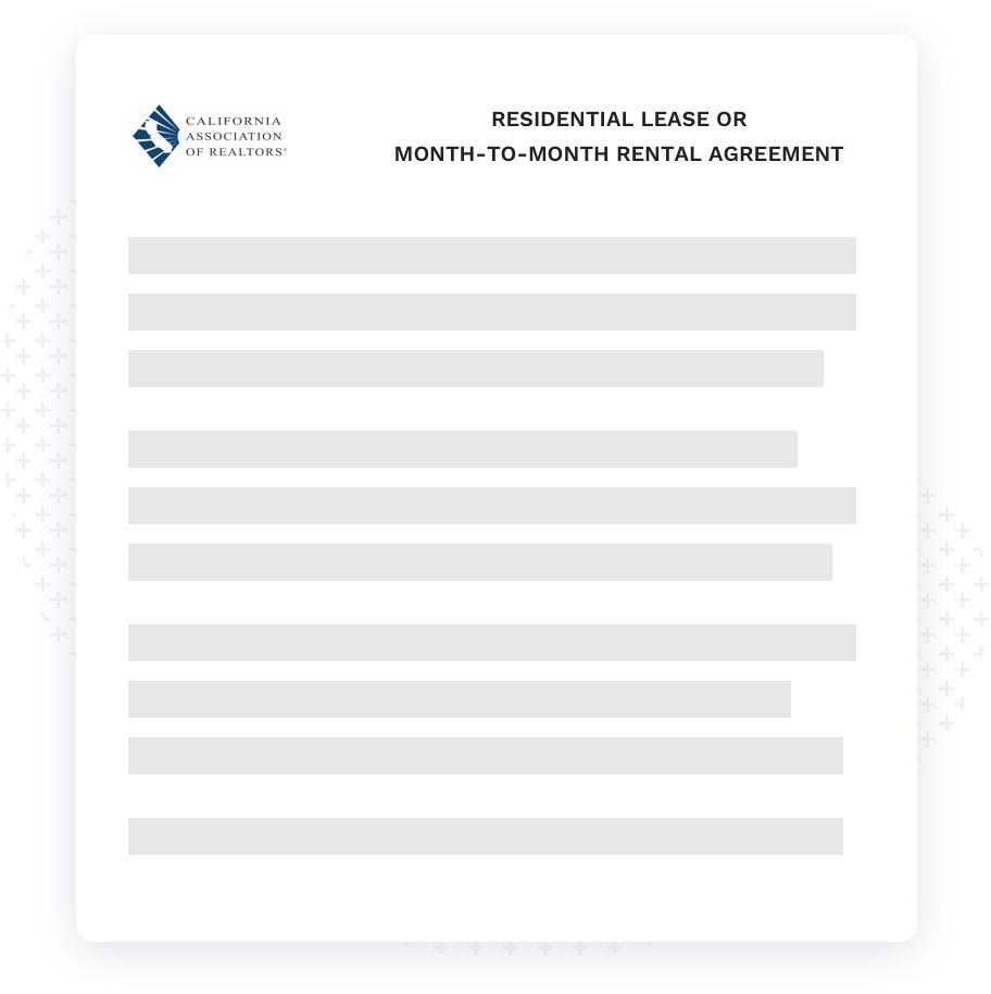 Local-standard rental lease agreement
