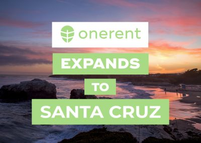 Onerent's On-demand Rental Service Launches in Santa Cruz, CA