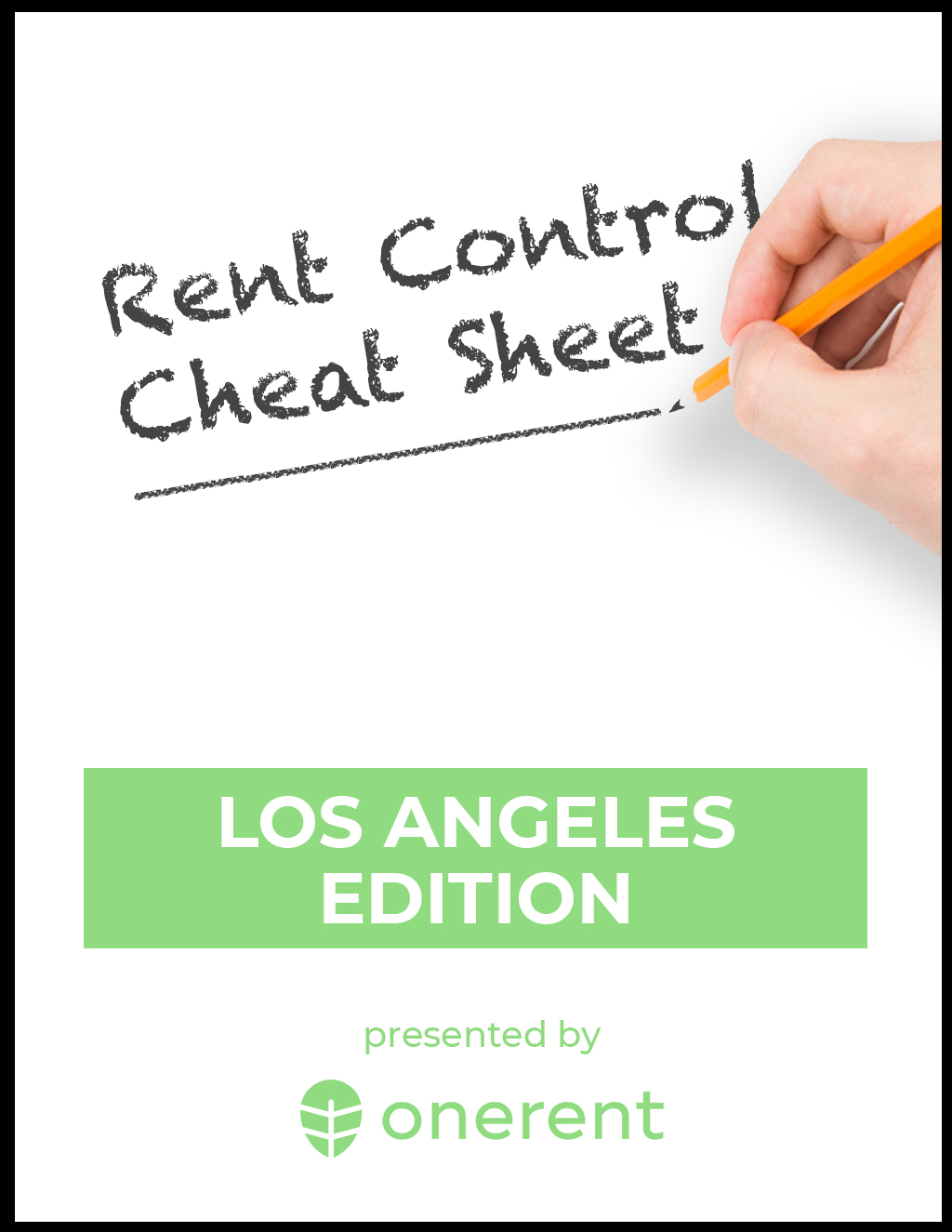 Los Angeles Rent Control Cheat Sheet