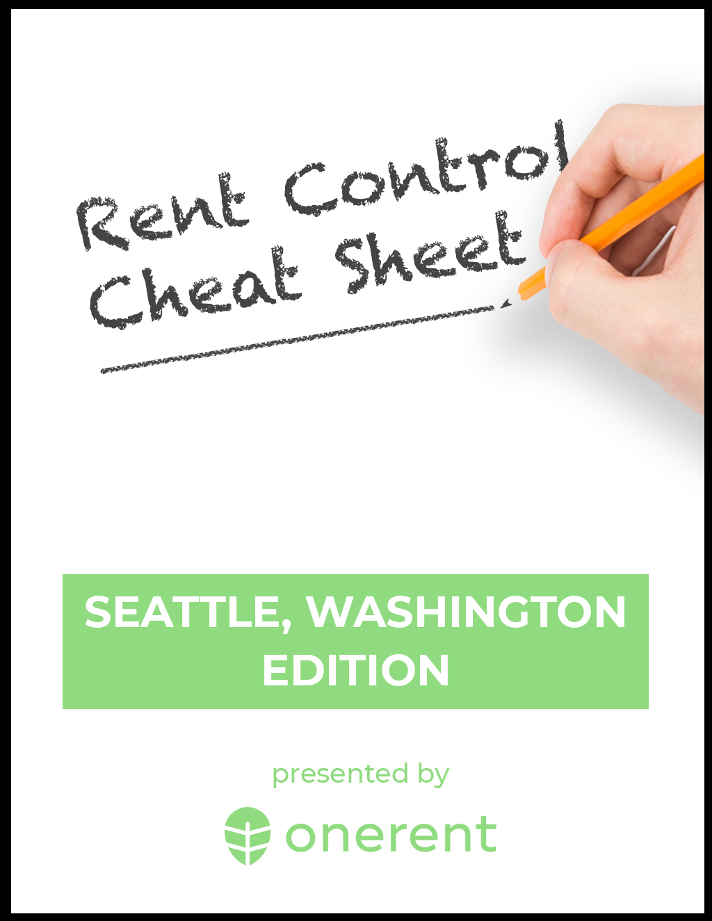 Seattle Rent Control Cheat Sheet